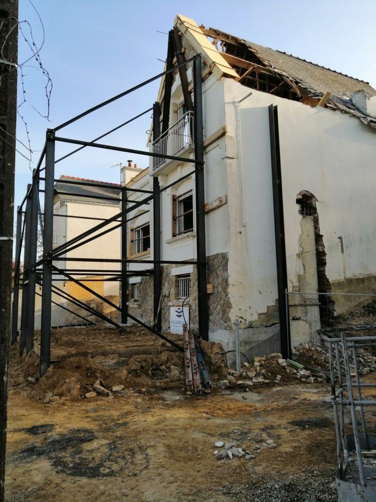 Stabilisation de la façade