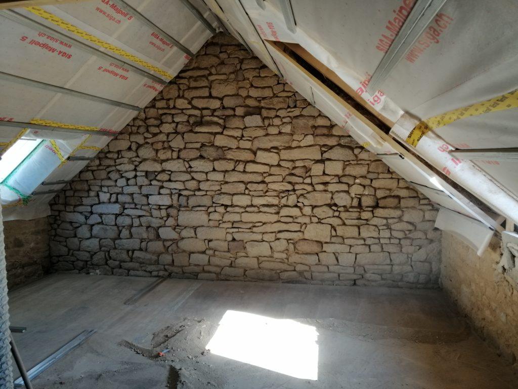 Rénovation de l'étage